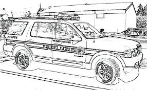Police Coloring Pages Pdf Car Of Page Jafevopusitop
