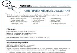 Resume Examples For Medical Assistant New Resume Objectives For Administrative Assistants Examples Resume