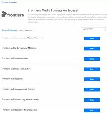 Word Templates Journal Where Can I Find The Word Template For Frontiers Media Journals For
