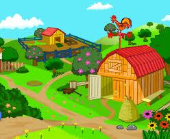 Resultado de imagen de granja escuela dibujos