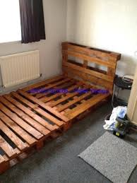 wooden bed frame with headboard and footboard white ikea wood storage drawers amazing ideas old pallets diy wood bed