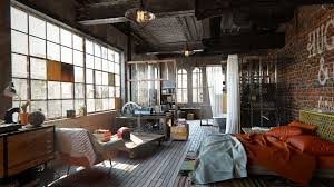Eclectic Design Source An Eclectic Industrial Loft In Brooklyn Ny Artists