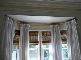 Perfect Bow Window Curtains and Curtain Rods For Bow Windows Window Curtains  Designs And Ideas