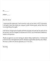 Job Offer Thank You Letter Offer Email Template Entrerocks Co