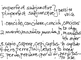 Showme Imperfect Subjunctive Latin