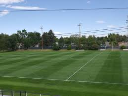 green grass soccer field. Lakewood Memorial Stadium (XtraGrass Field), Lakewood, CO Green Grass Soccer Field