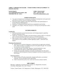 Combined Resume Templates Sample Of Combination Resume Format Combination Resume Template Word