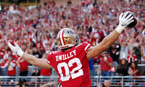 Forty Niners Depth Chart Kyle Shanahan Calls Ross Dwelley Best Player On 49ers Roster