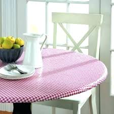 round vinyl table covers round fitted table covers round table covers with elastic table cloth pic