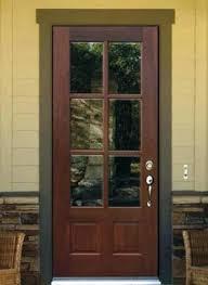 3 4 glass entry door classic entry door with 2 side lights fiber classic mahogany grain