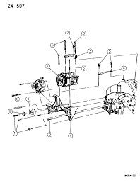 1995 dodge dakota mounting pressor diagram 00000enr
