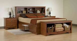 King Size Bed Frame With Drawers Great For Space Saving Blogbeen ...