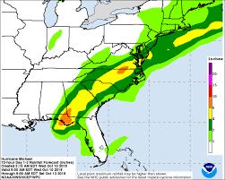 Hurricane Michael Updates Landfall Forecast Track