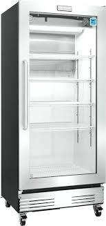 glass door freezers ft commercial glass door refrigerator true 3 glass door freezer