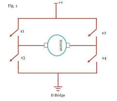 motor controller h bridge botskool MOS FET H-bridges Circuits Circuit Diagram H Bridge Motor Driver #30