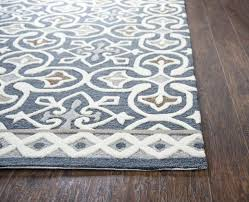 blue grey rug uk futuristic gray area your house inspiration hand tufted carpet reviews birch lane in f