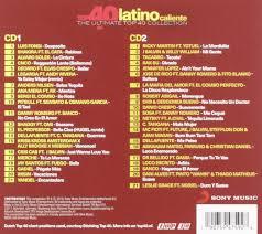 Top 40 Compilation Chart Various Artists Top 40 Latino Caliente Amazon Com Music