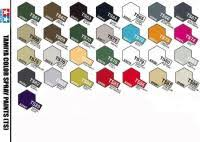 Tamiya Lacquer Paint Chart Tamiya Acrylic Ts Plastic