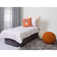 bacati sports 100 cotton muslin 4 piece toddler bedding set basketball orange grey com