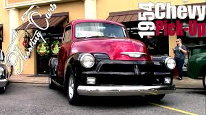 1954 Chevy Pickup! The Two-Tone Stunner! - YouTube