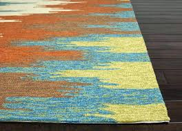 green and yellow area rugs blue