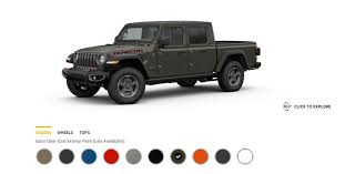 2020 Jeep Colors Chart Updated 2020 Gladiator Colors Revealed Gobi Hydro Blue