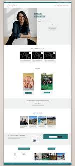 Book Author Website Design Daria Salamon Author Website Website Design Inspiration