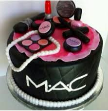 mac cosmetics cake mac makeup birthday