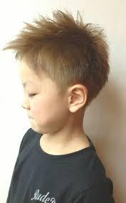 Kids外人風ショートの髪型 Stylistd