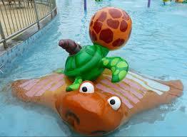 Turtle Splash Kids Water Playground Fiberglass Swimming Pool Water