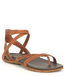 chaco juniper leather sandals
