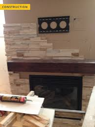 stone facing fireplace construction stone facing fireplace construction