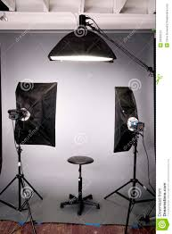 The Lighting Studio Photography Studio Lighting Background Setup Grey Stock