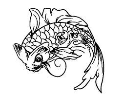 Small Picture Koi fish coloring page Coloringcrewcom