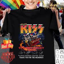 Merry Kissmas 47th Anniversary 1973 2020 Signatures