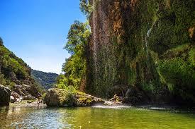 Trekking alla cascata di Sa Stiddiosa nel Rio Flumendosa