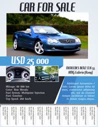 Create A Car Sale Flyer Online In Minutes Postermywall
