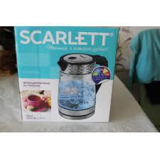 Отзывы о Электрический <b>чайник Scarlett SC-EK27G58</b>