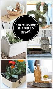 farmhouse inspired decor livelaughrowe com