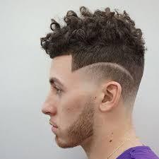 Dégradé Cheveux Frisés Homme