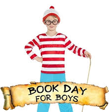 book day for children gilrls boys characters from books of favourite authors