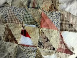 ThreadCrumbs: #61 patchwork quilt fragment & hand pieced patchwork fragment, 14