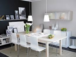 Dining Room Ideas Ikea Inspiration Decor Blown Glass Chandelier Impressive Ikea Dining Room Ideas Decor