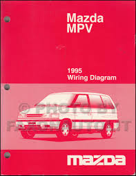 1995 mazda mpv wiring diagram manual original