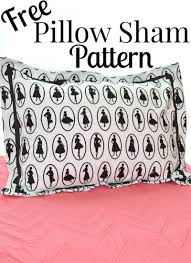 Pillow Sham Pattern