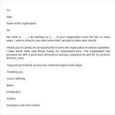 Retirement Letter Retirement Letter Template How To Write A Retirement Letter
