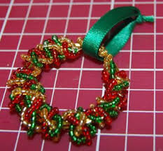 Beaded Christmas Ornaments Patterns Awesome 48 Beaded Ornament Patterns You Can't Beat AllFreeChristmasCrafts