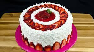 Strawberry Cake Best Hd Wallpaper 35435 Baltana