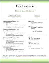 Professional Resume Template 2013 Best Simple Resume Template Pdf Ravecoffeeco
