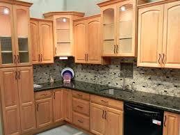 oak cabinets cabinet wood finish feature oak oak cabinets with gray quartz countertops